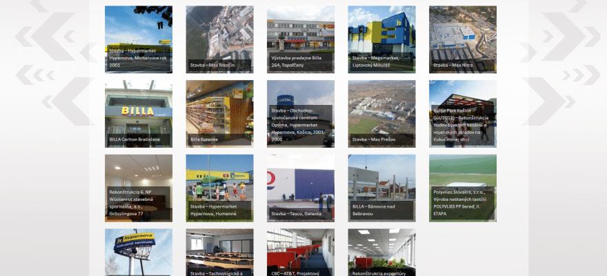 Web Kami Profit, stavebná spoločnosť