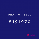 Phantom Blue #191970