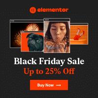Elementor Black Friday Sale