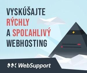 Websupport Hosting